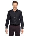 "North End® Men's Precise Wrinkle-Free Two-Ply 80"" s Cotton Dobby Taped Shirt"
