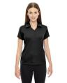 North End® Ladies' Exhilarate Coffee Charcoal Performance Polo with Back Pocket