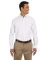 Harriton® Men's Long-Sleeve Oxford with Stain-Release