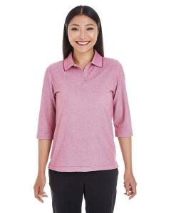Devon & Jones® Ladies' Pima-TechTM Oxford Piqué Polo