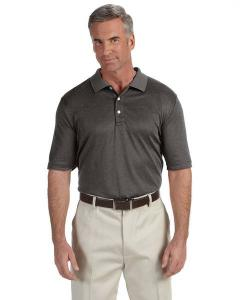 Devon & Jones® Men's Pima-TechTM Jet Piqué Heather Polo