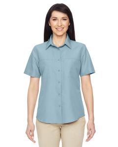 Harriton® Ladies' Key West Short-Sleeve Performance Staff Shirt