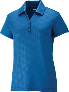North End® Ladies' Maze Performance Stretch Embossed Print Polo