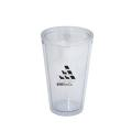 500 ML. (17 OZ.) DOUBLE WALLED TUMBLER WITH STRAW