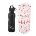 WIDE MOUTH 750 ML. (25 OZ.) STAINLESS STEEL WATER BOTTLE