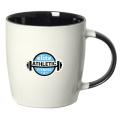 KOHO 350 ML. (12 OZ.) MUG WITH COLOURED HANDLE