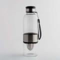 Borosilicate Glass- Hand Blown - Water Bottle/Fruit Infuser 550 ML - BGB-A143-550