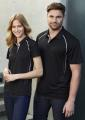 Mens Cyber Biz Cool Breathable Antibacterial Polo
